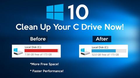 Opslagruimte vrijmaken op je laptop of PC (Windows)